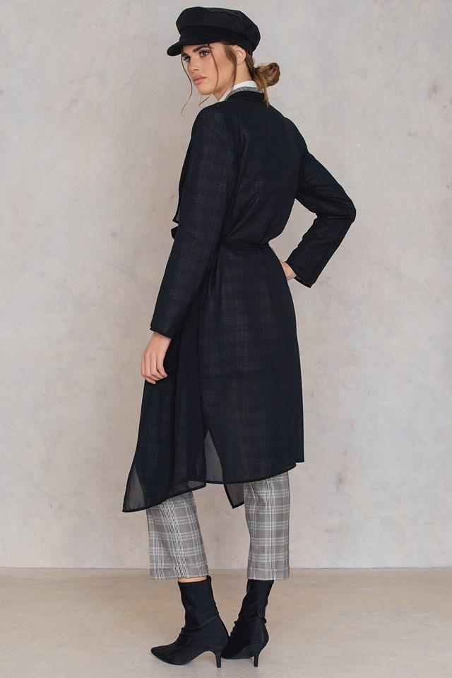 Nellie thin coat Black