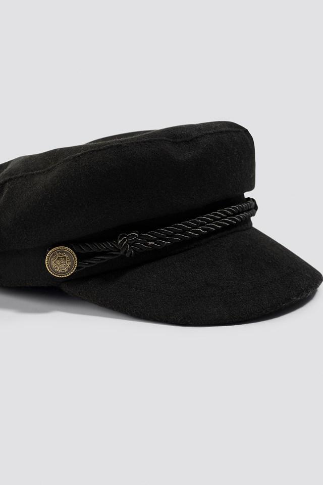 Noca Captains Cap Black