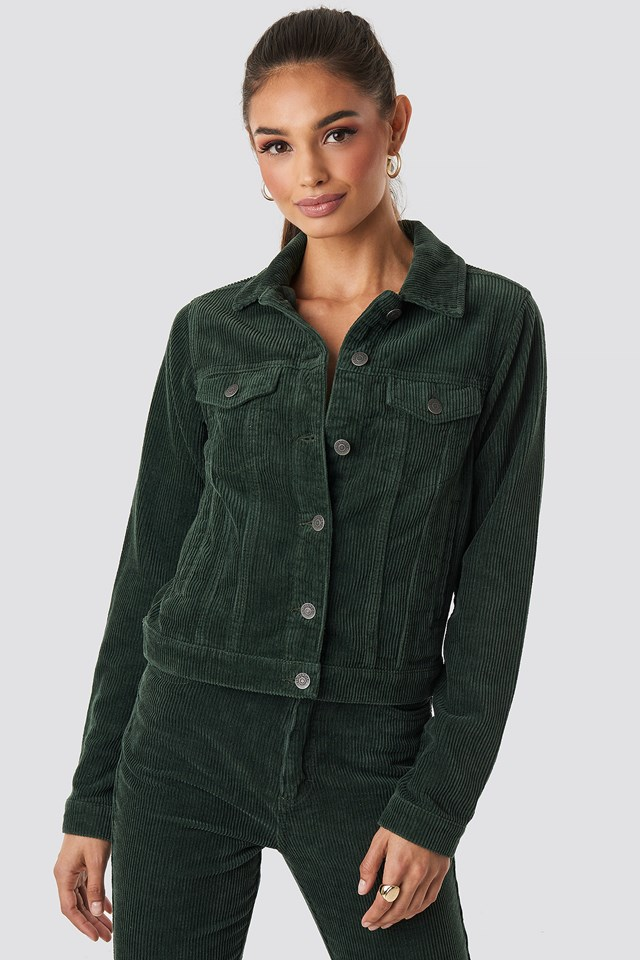Nova Cord Jacket Dark Green