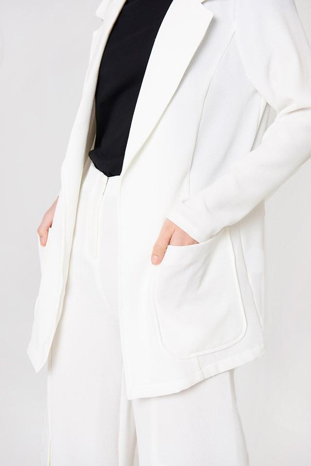 Ofelia Blazer White
