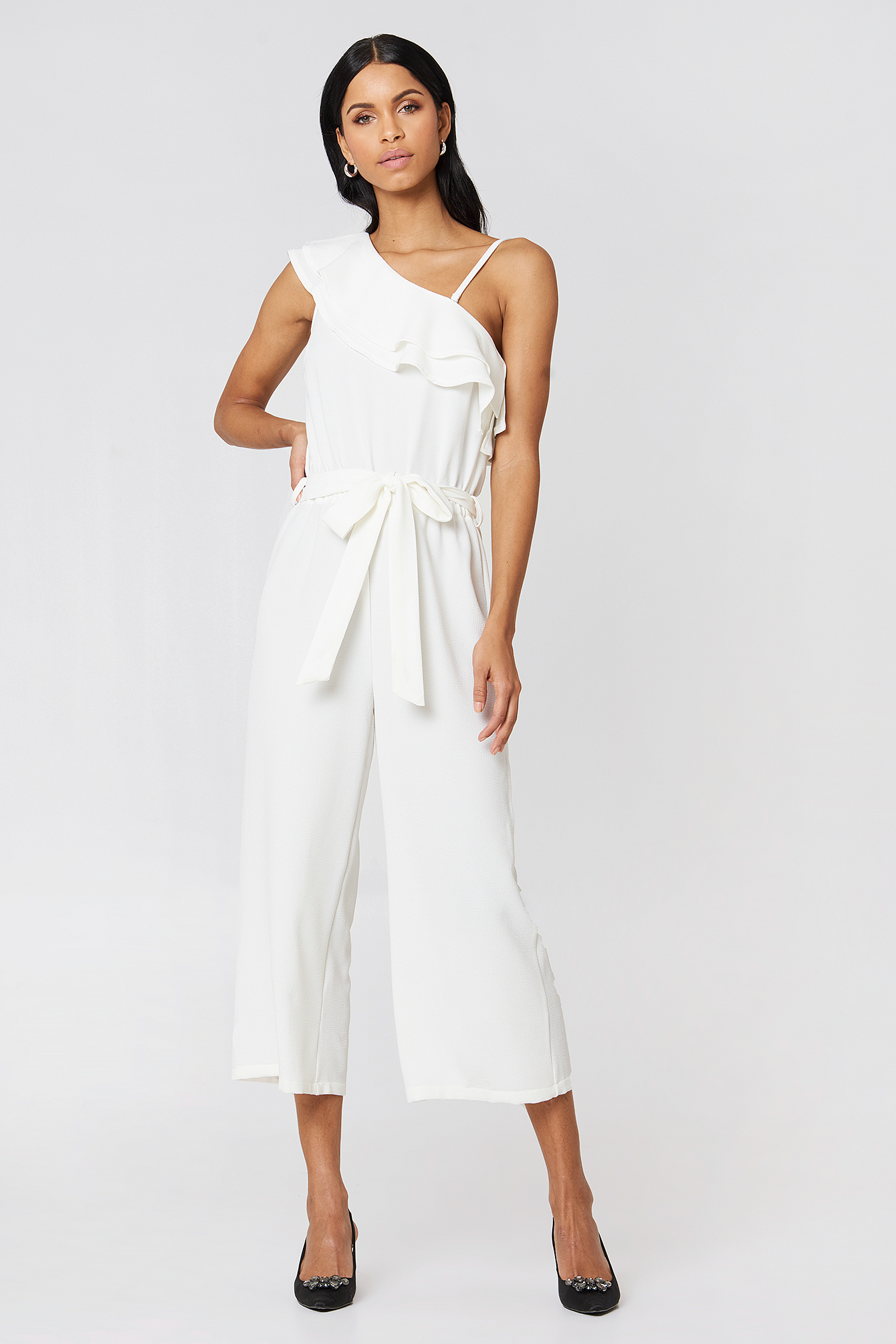 Ofelia One Shoulder Jumpsuit NA-KD.COM