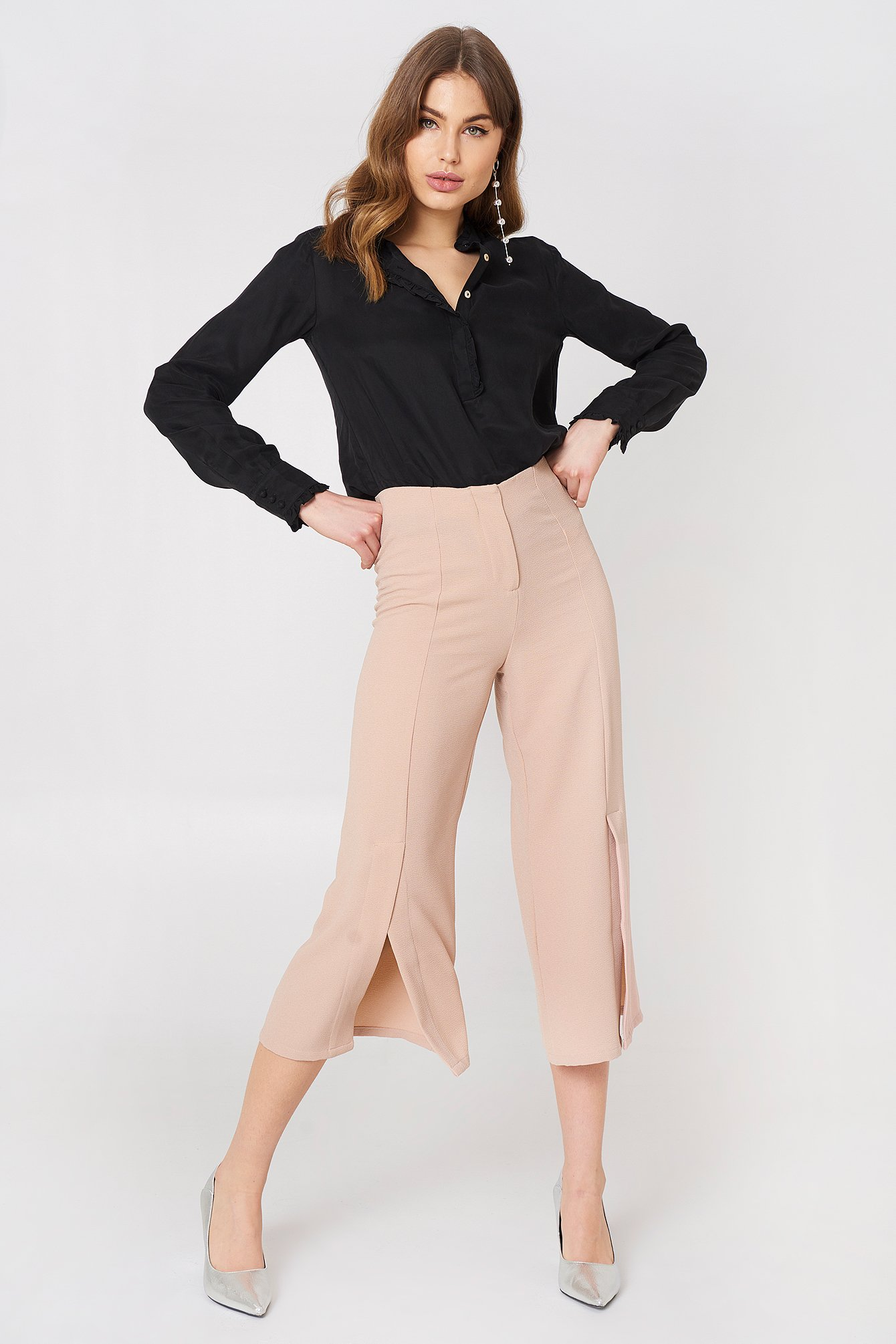 Ofelia Pant With Slit NA-KD.COM