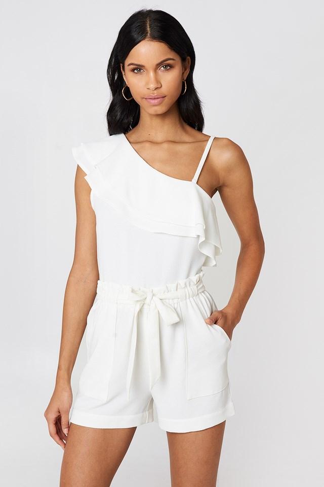 Ofelia Shorts White
