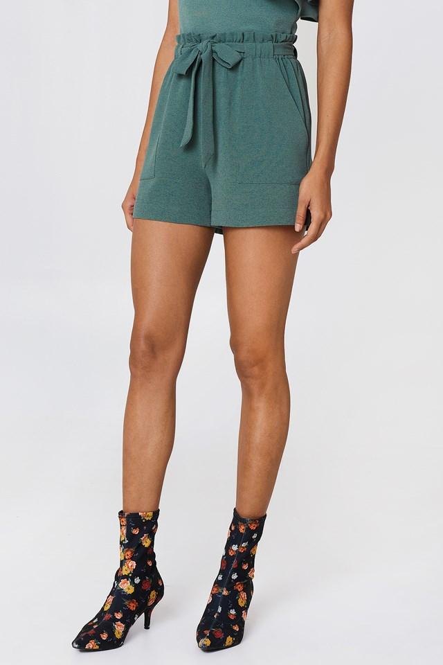 Ofelia Shorts Duck Green