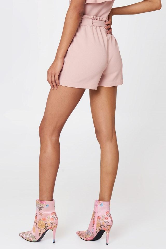 Ofelia Shorts Pastel Pink