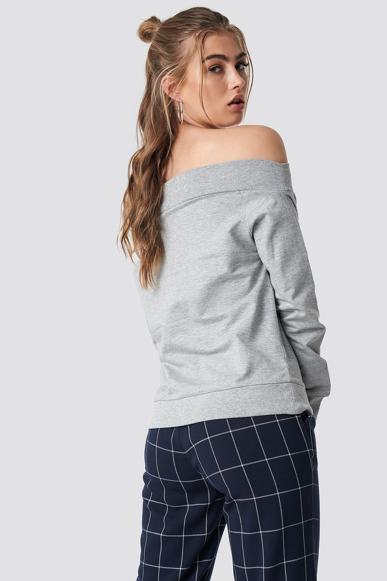 Off Shoulder Sweatshirt NA-KD.COM
