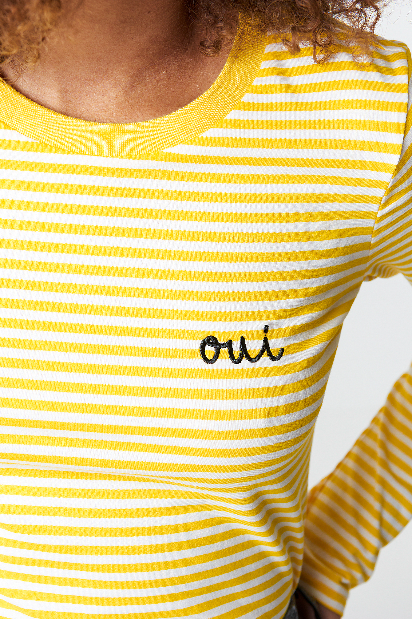 Oui Stripe top NA-KD.COM