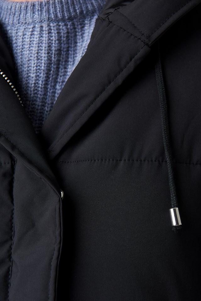 Padded Hood Jacket NA-KD.COM
