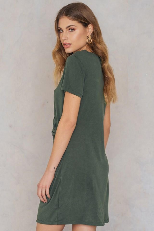 Peachy Dress Green