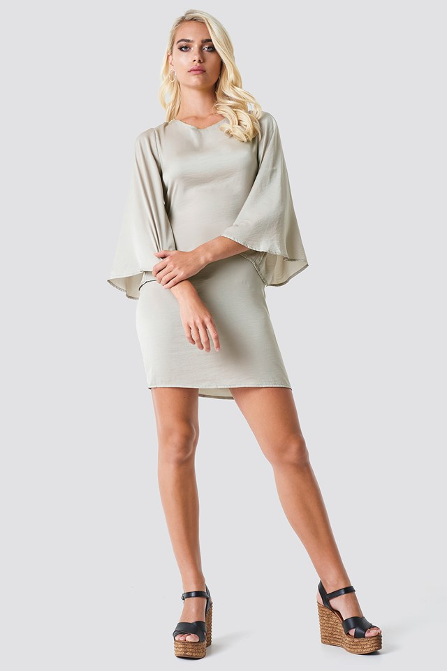 Philippa Dress Grey