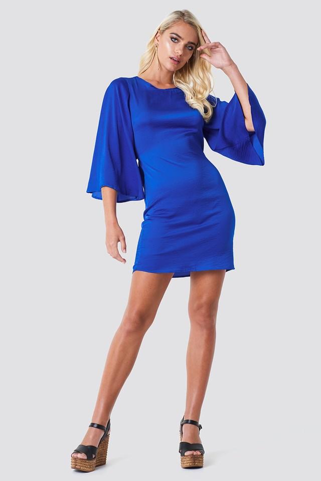 Philippa Dress Cobalt Blue