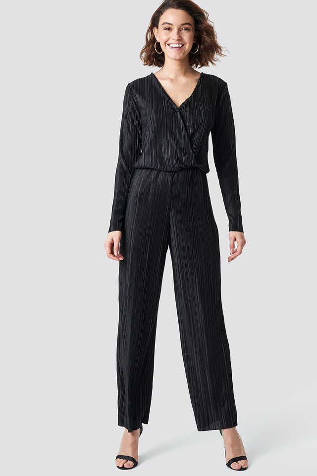 Pleated Jumpsuit Rut&Circle