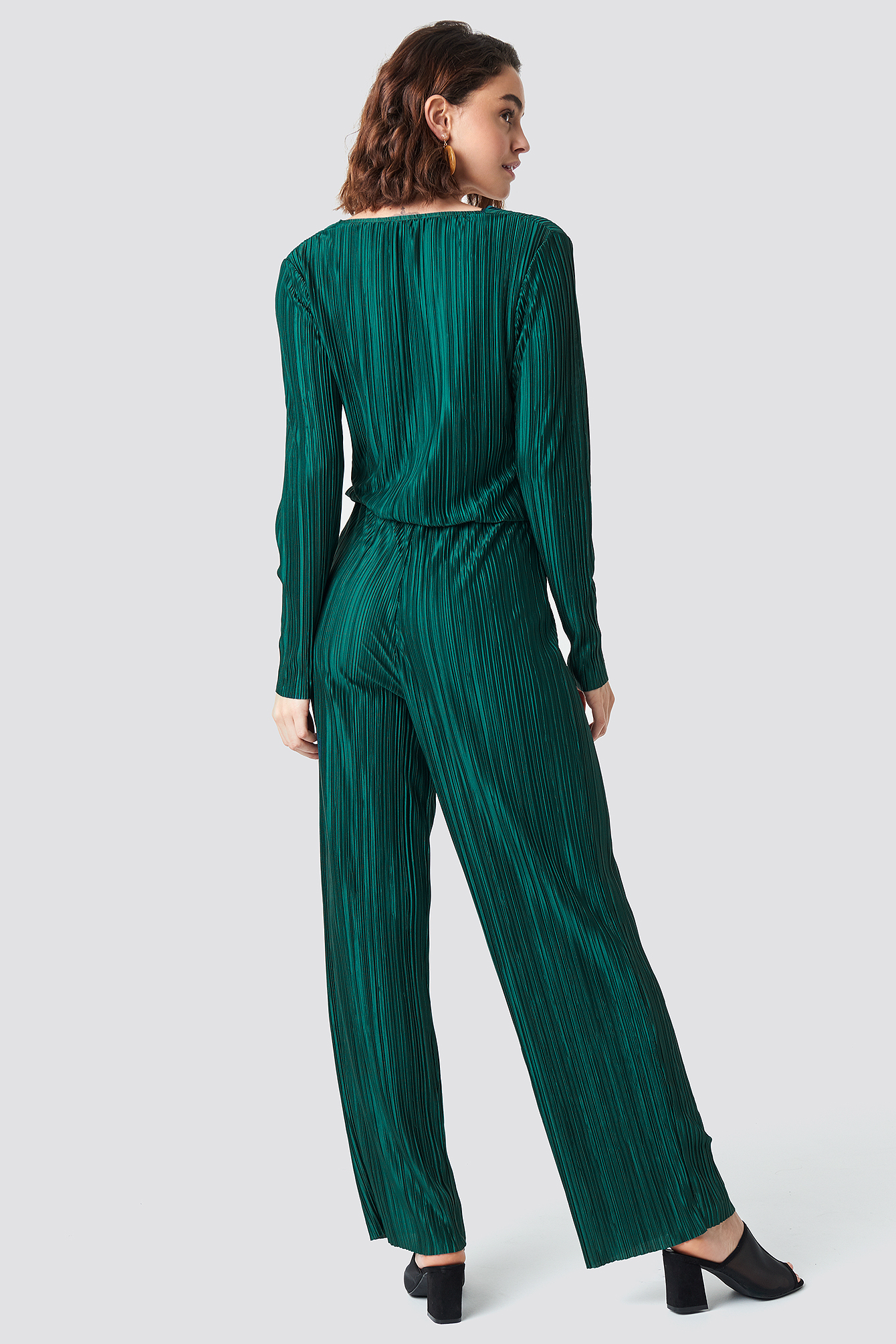 Pleated Jumpsuit NA-KD.COM