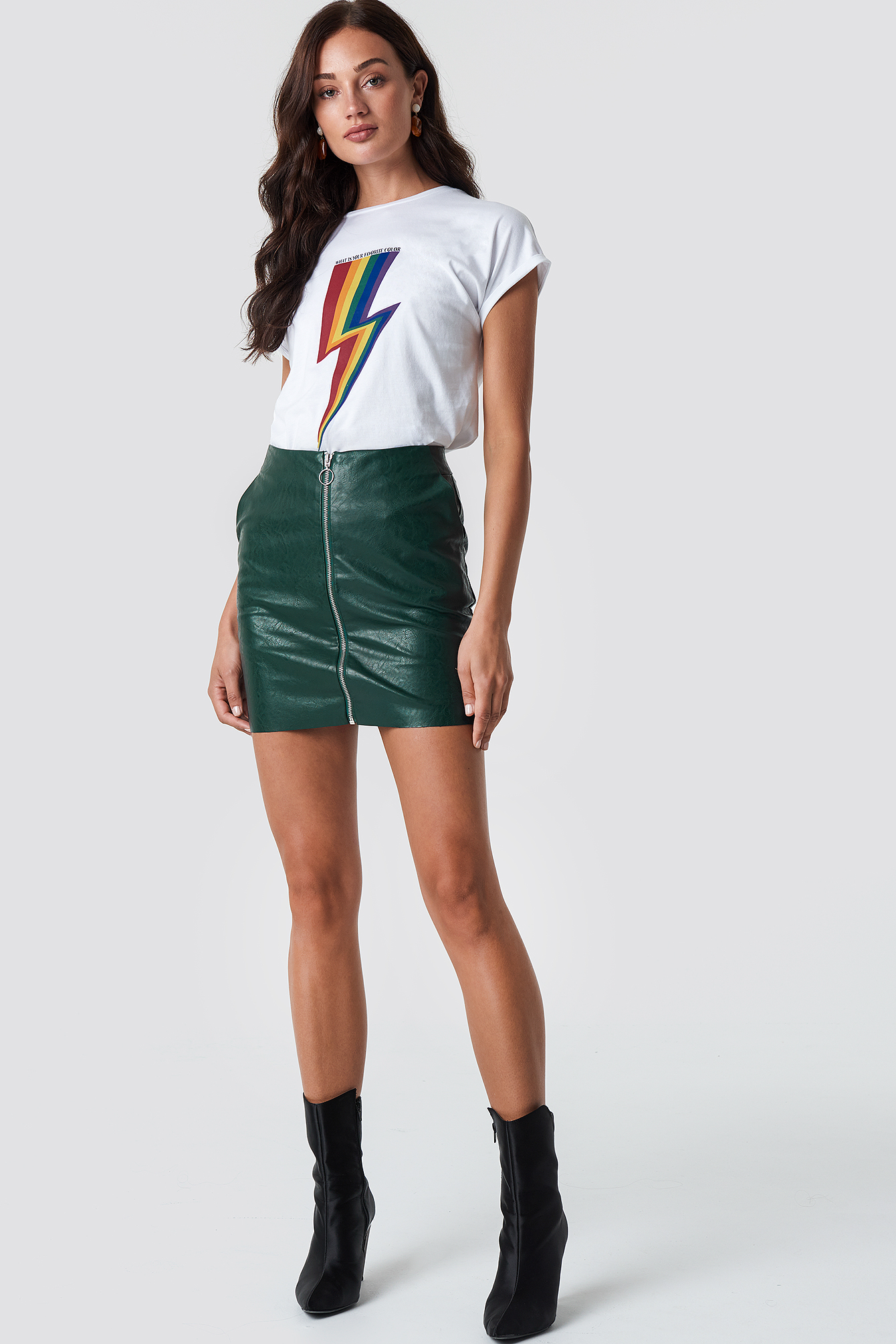 Rainbow Flash Tee NA-KD.COM