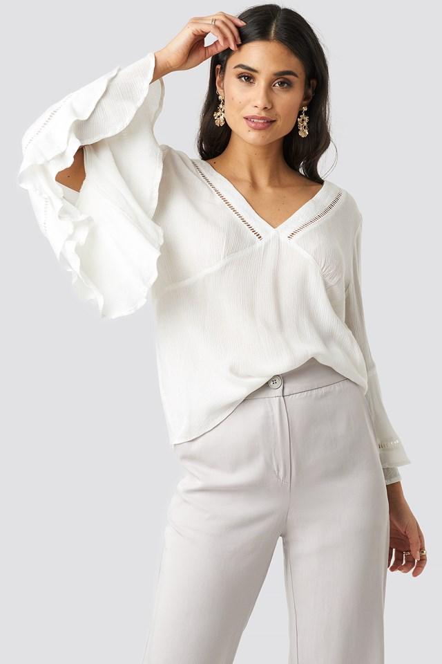 Romantic Blouse White