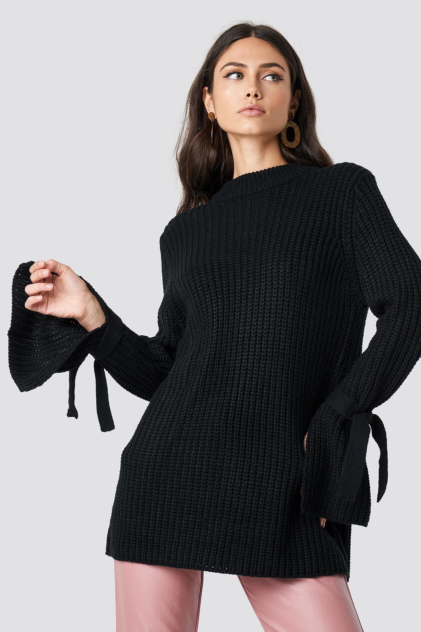 Sweter Samira Knot Knit NA-KD.COM