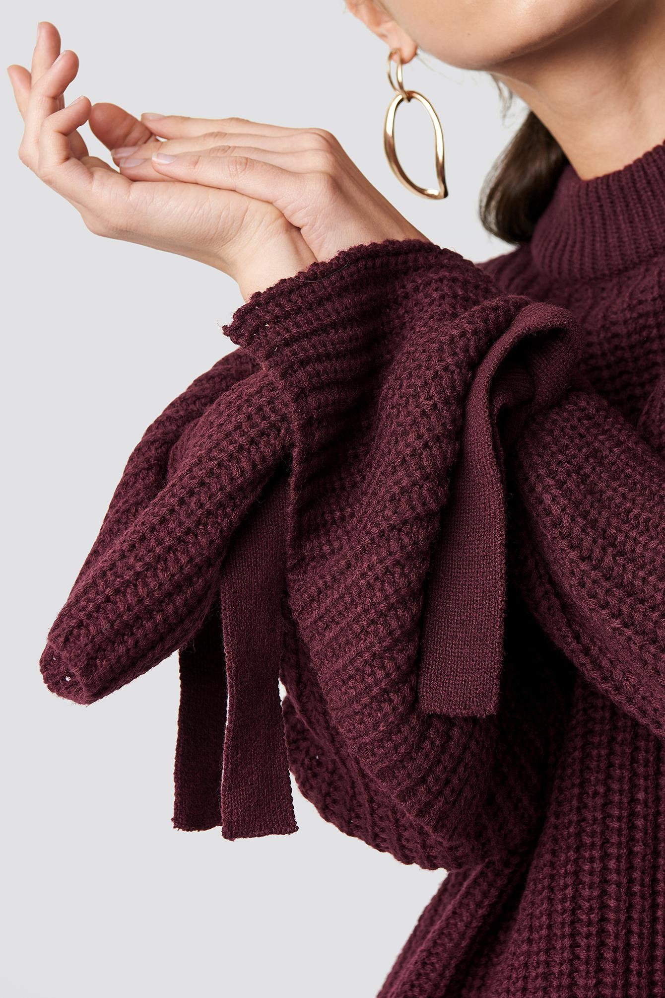 Samira Knot Knit NA-KD.COM