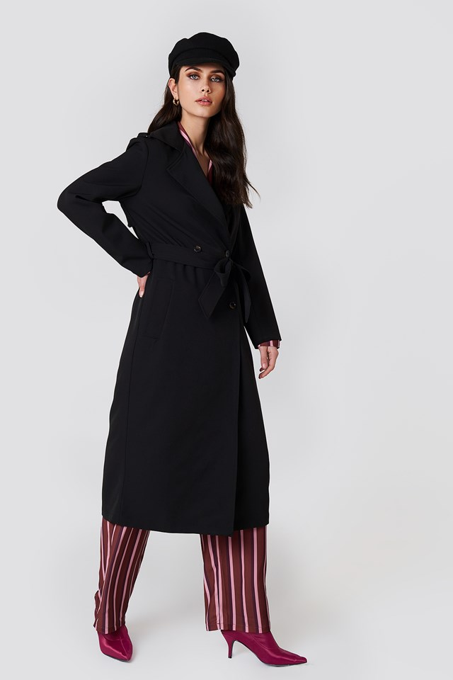 Samira Long Trench Rut&Circle