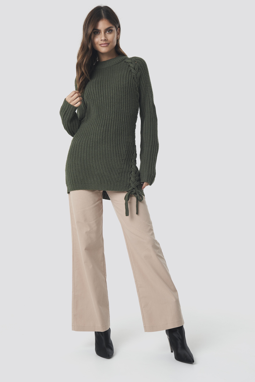Samira Side Braid Knit NA-KD.COM