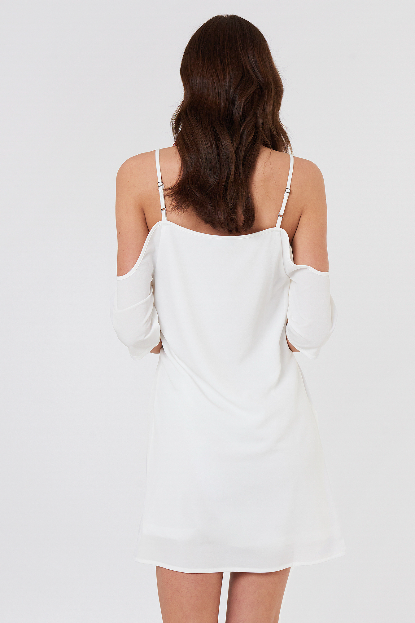 Sanna Frill Dress NA-KD.COM