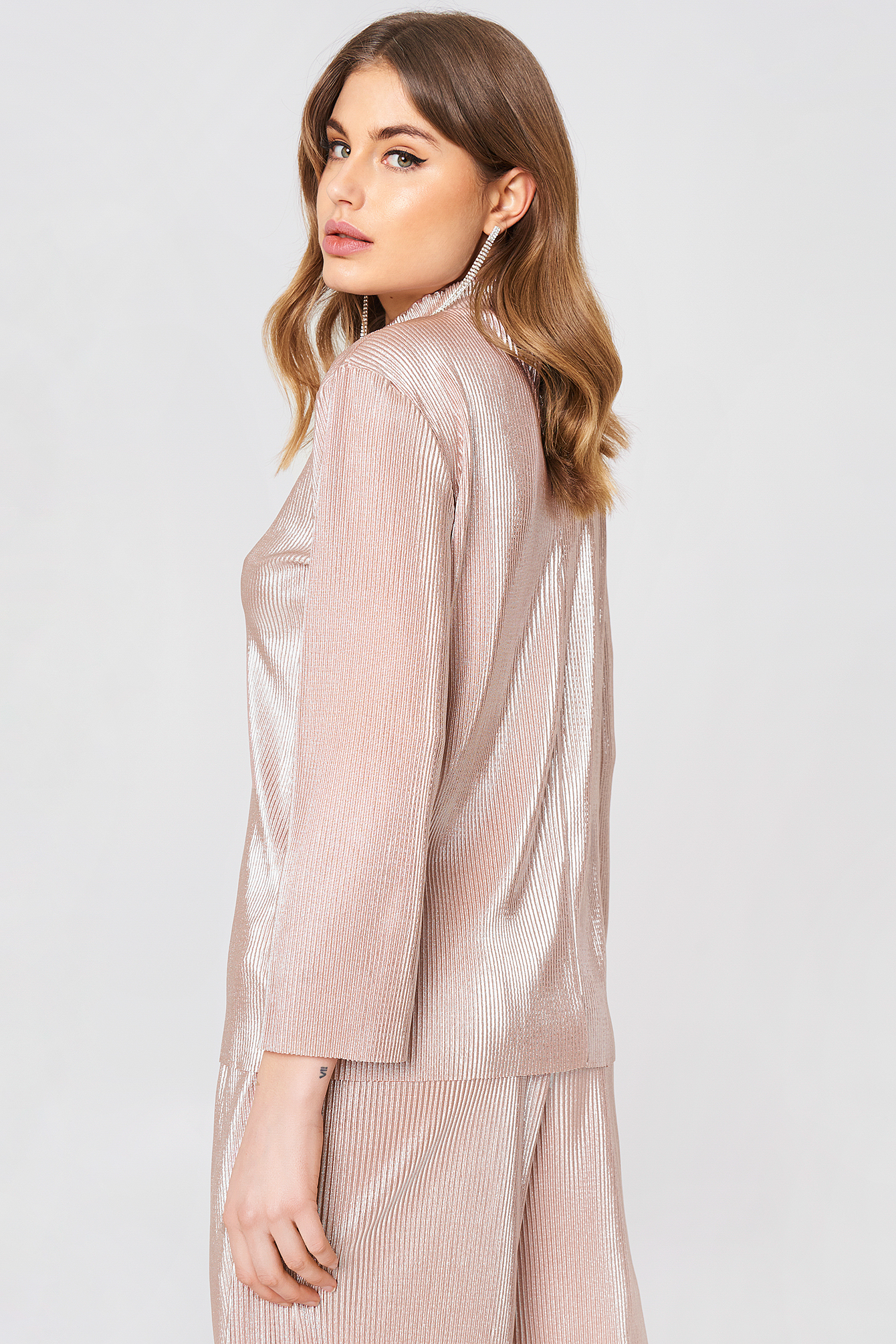 Stella Pleat Top NA-KD.COM