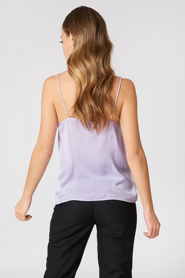 Stine Lace Singlet Lavender