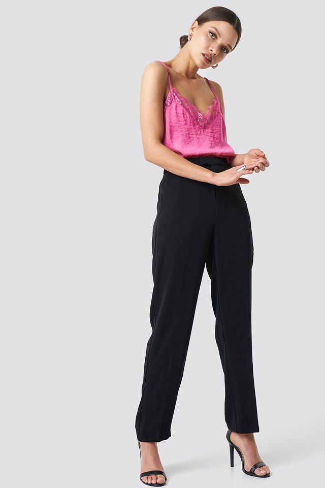 Stine Lace Singlet NA-KD.COM