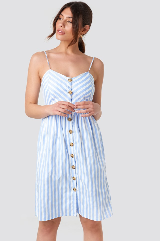 Stripe Dress Blue/White Stripe