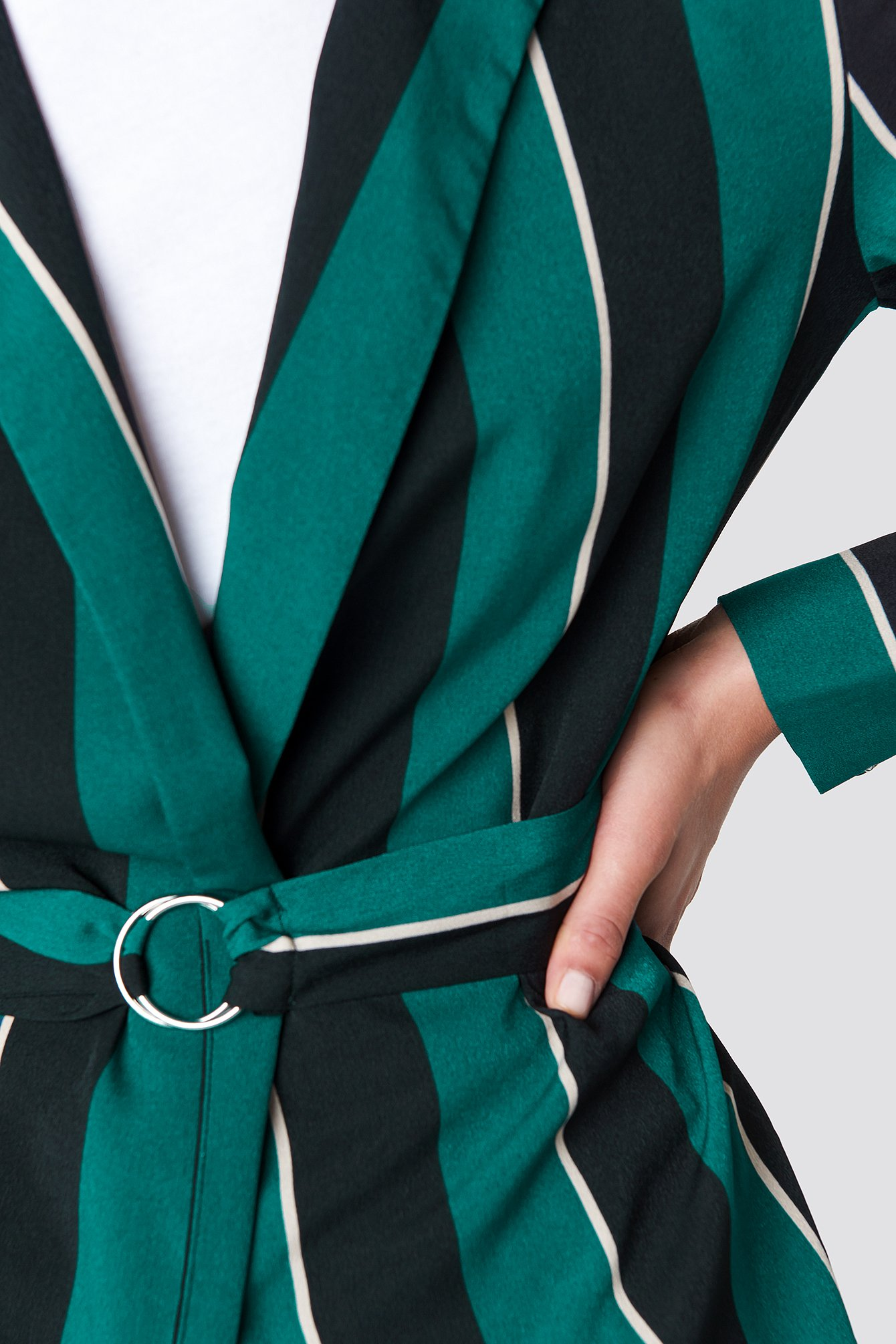 Striped Dress Jacket  NA-KD.COM