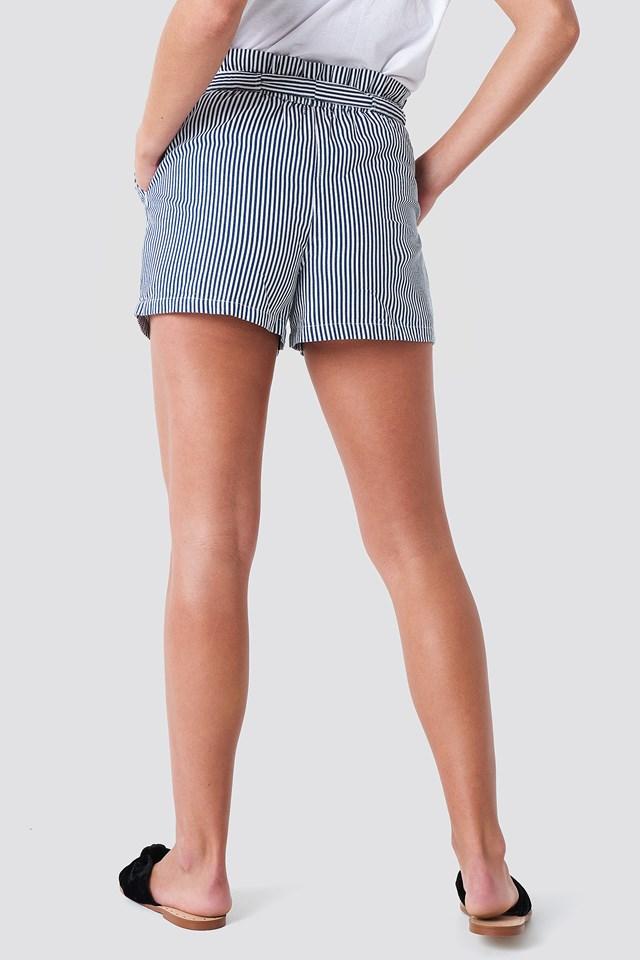 Firo Stripe Shorts Blue/White Stripe