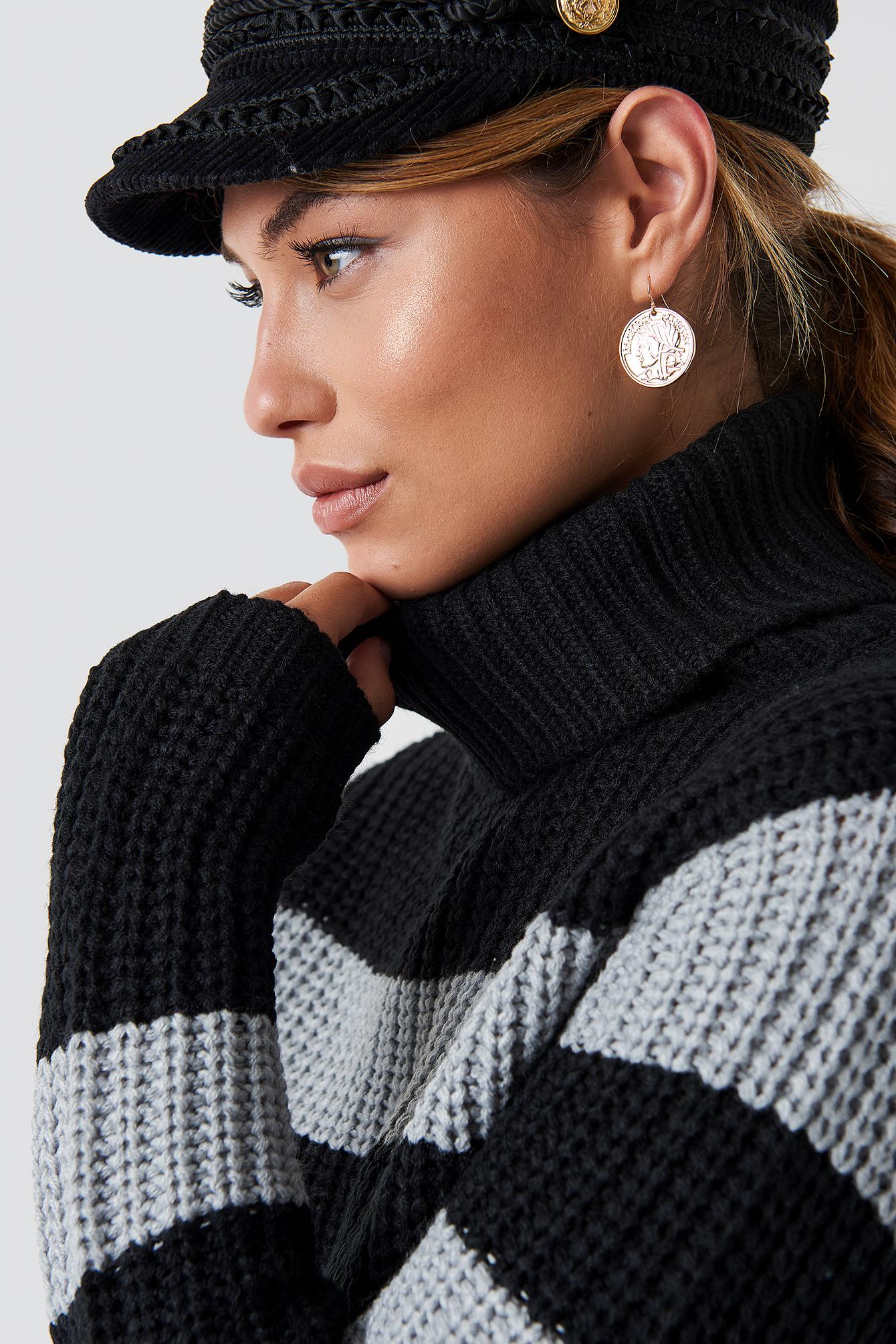 Tinelle rollneck knit NA-KD.COM