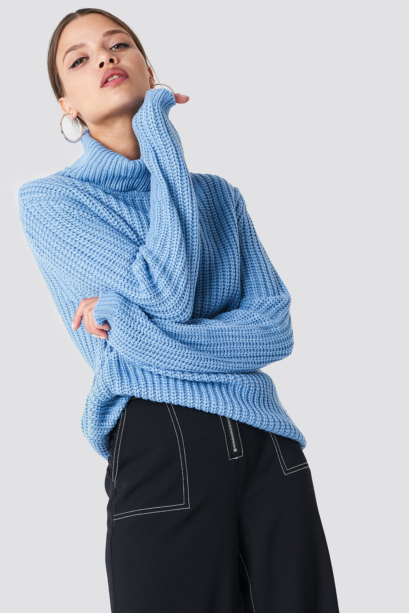 rut&circle -  Tinelle rollneck knit - Blue