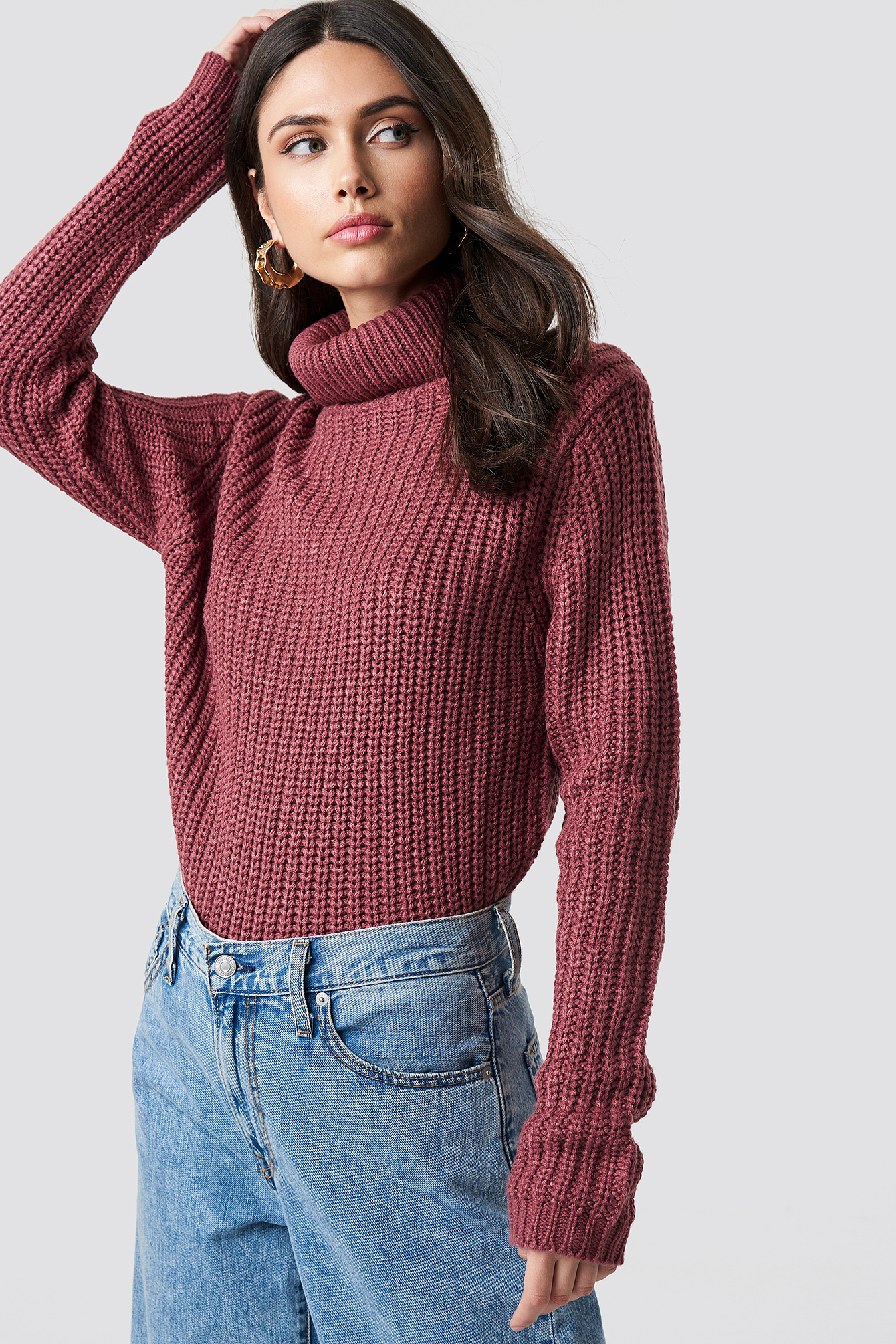 rut&circle -  Tinelle rollneck knit - Pink