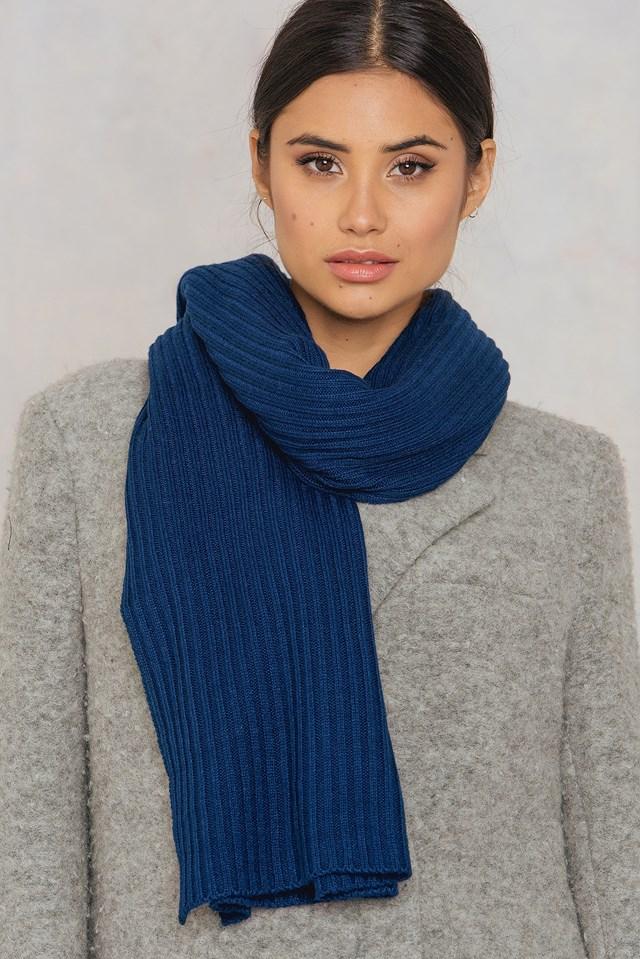 Tinelle scarf DK Navy