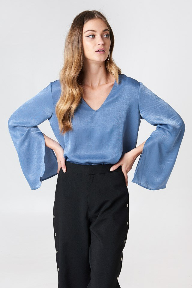 Tova Blouse Blue
