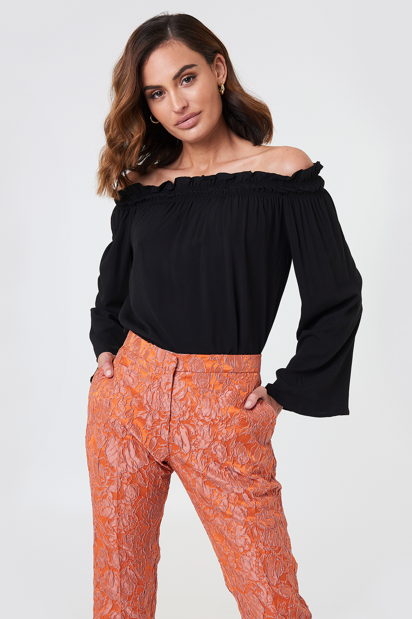 Venda Off Shoulder Top NA-KD.COM
