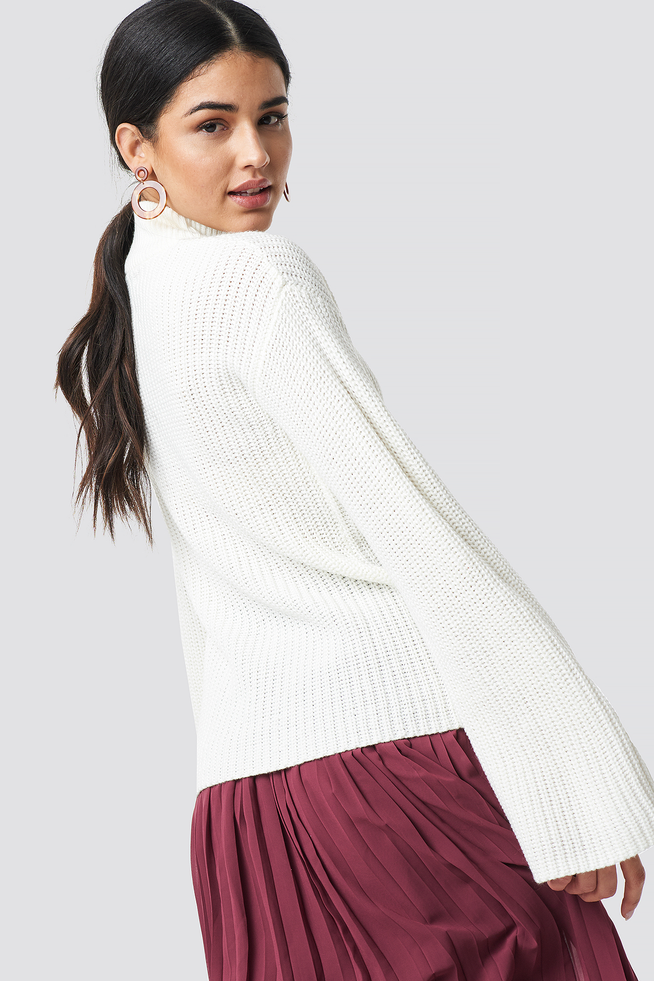 Wide Sleeve Pullover NA-KD.COM