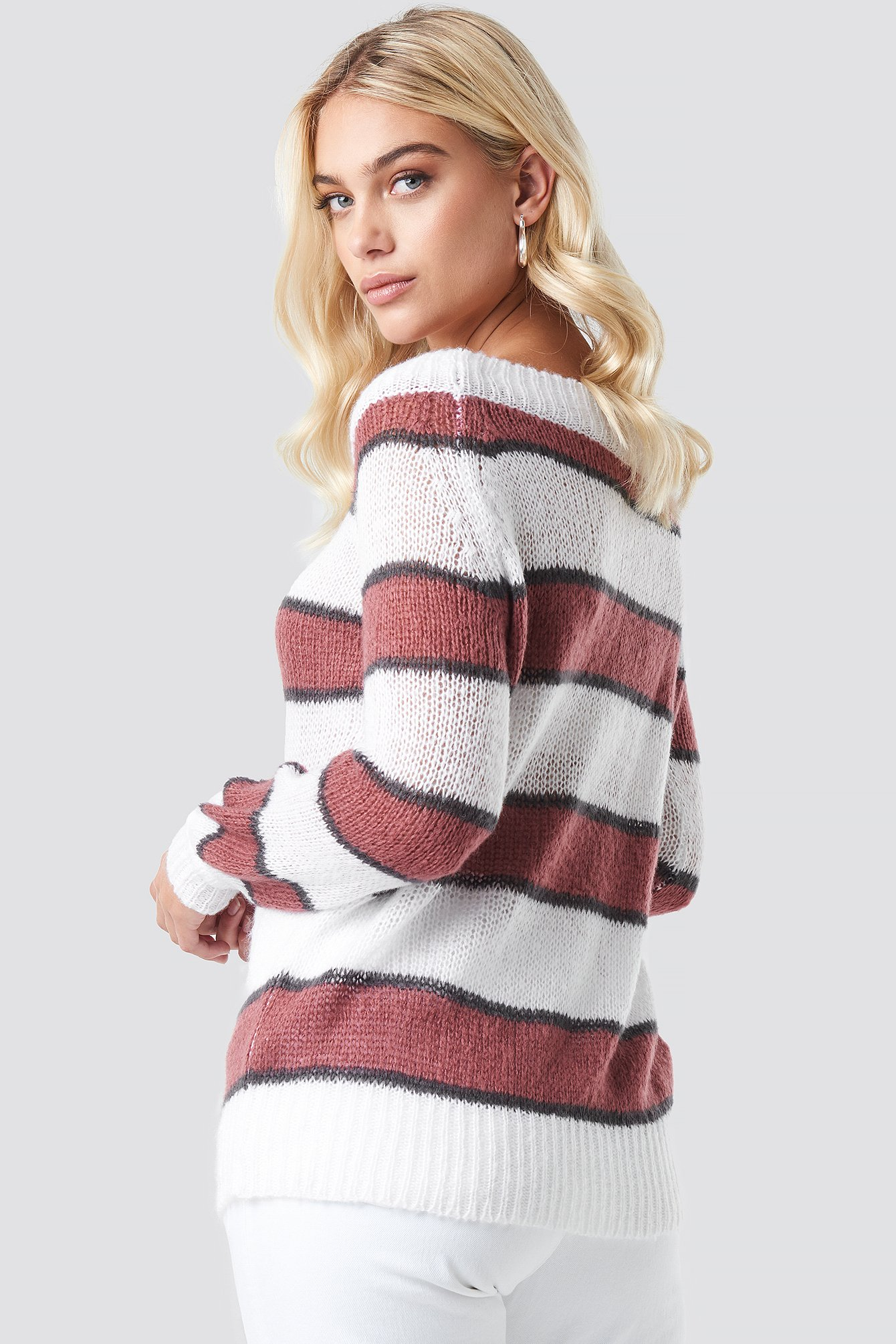 Evelyn Off Shoulder Knit NA-KD.COM