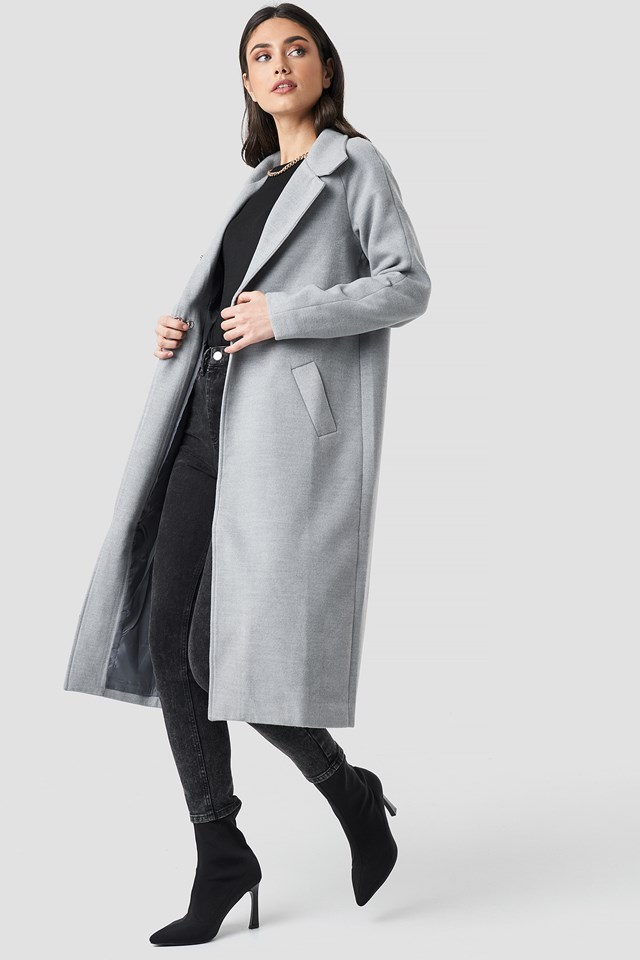 Gella long coat NA-KD.COM
