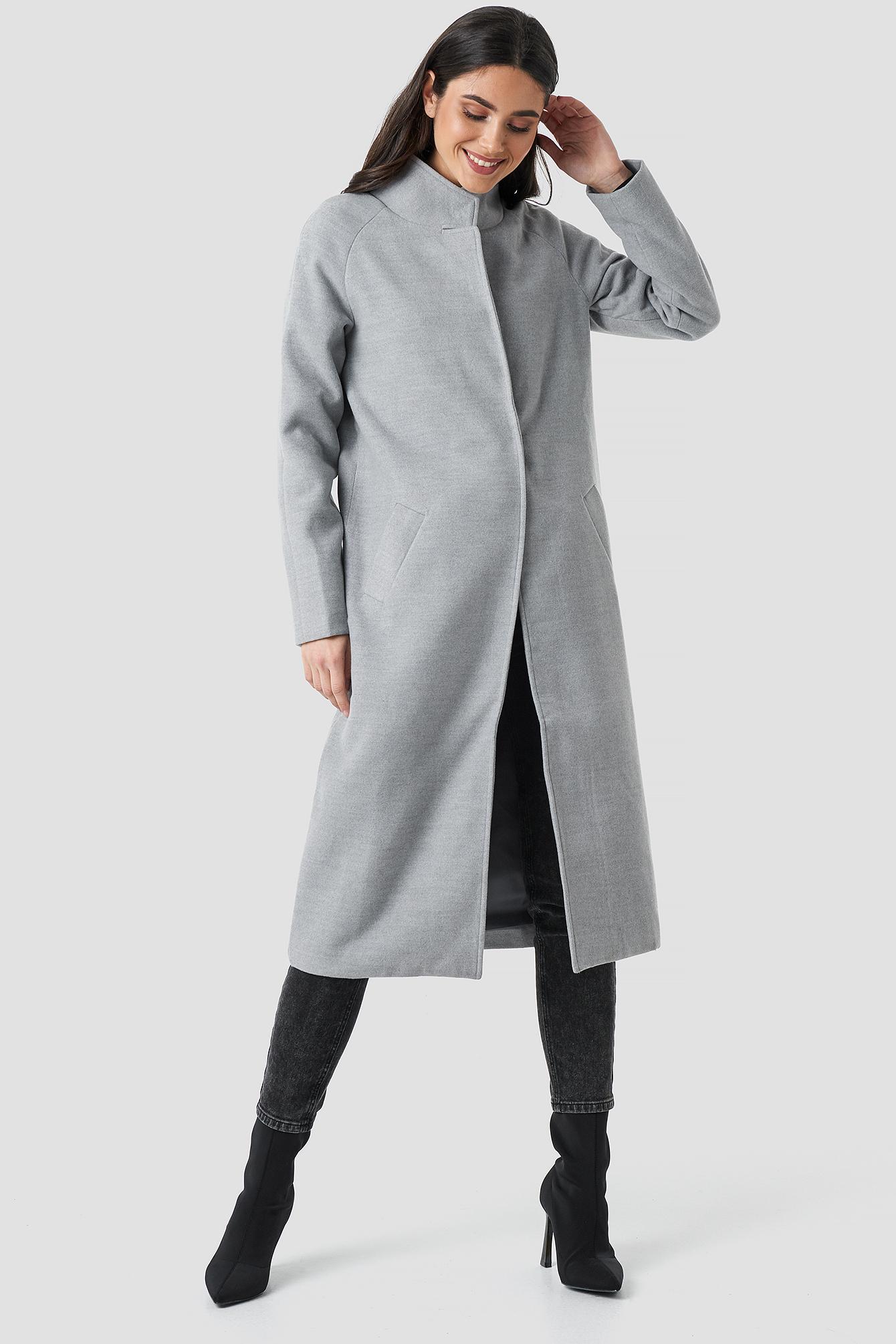 Gella long coat NA-KD.COM