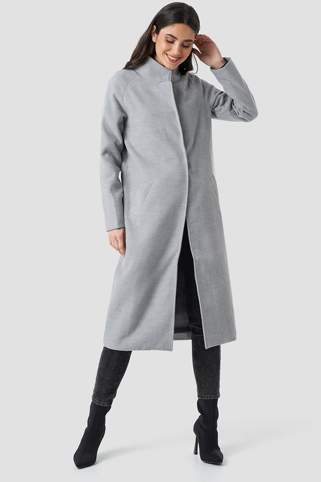 Gella long coat Grey