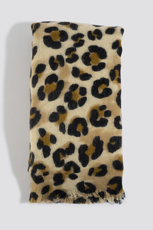 Leo Scarf Leopard Print