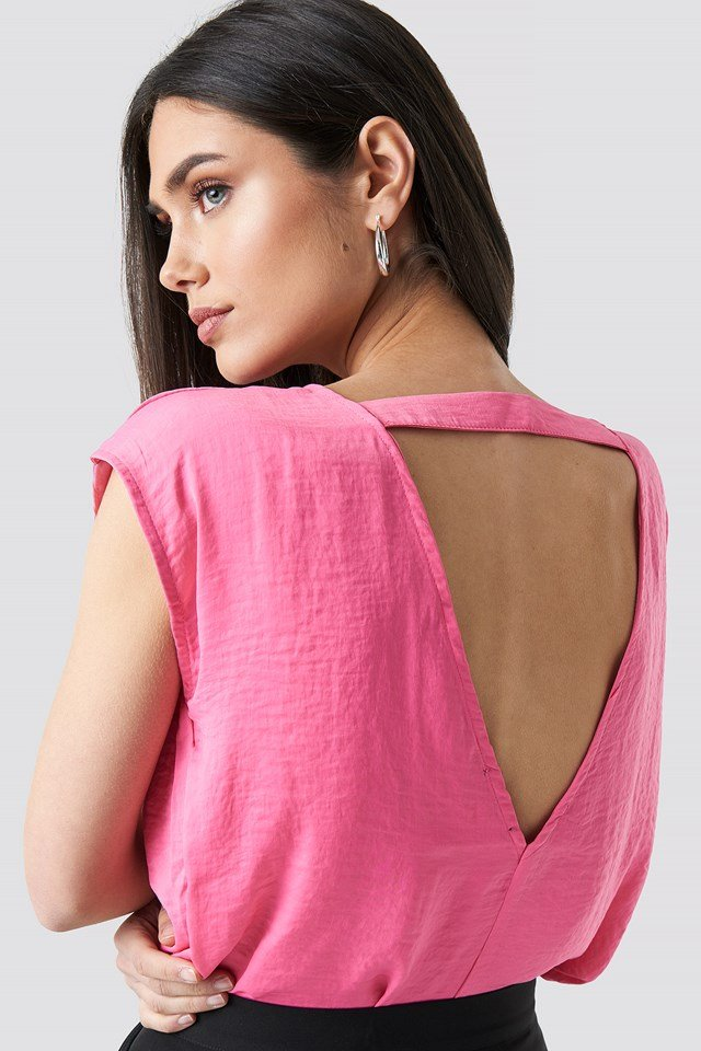 Top Lucy Strong Pink