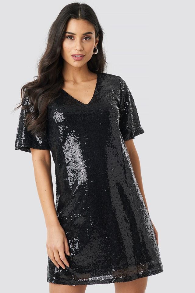 Lulu Sequins Dress NA-KD.COM