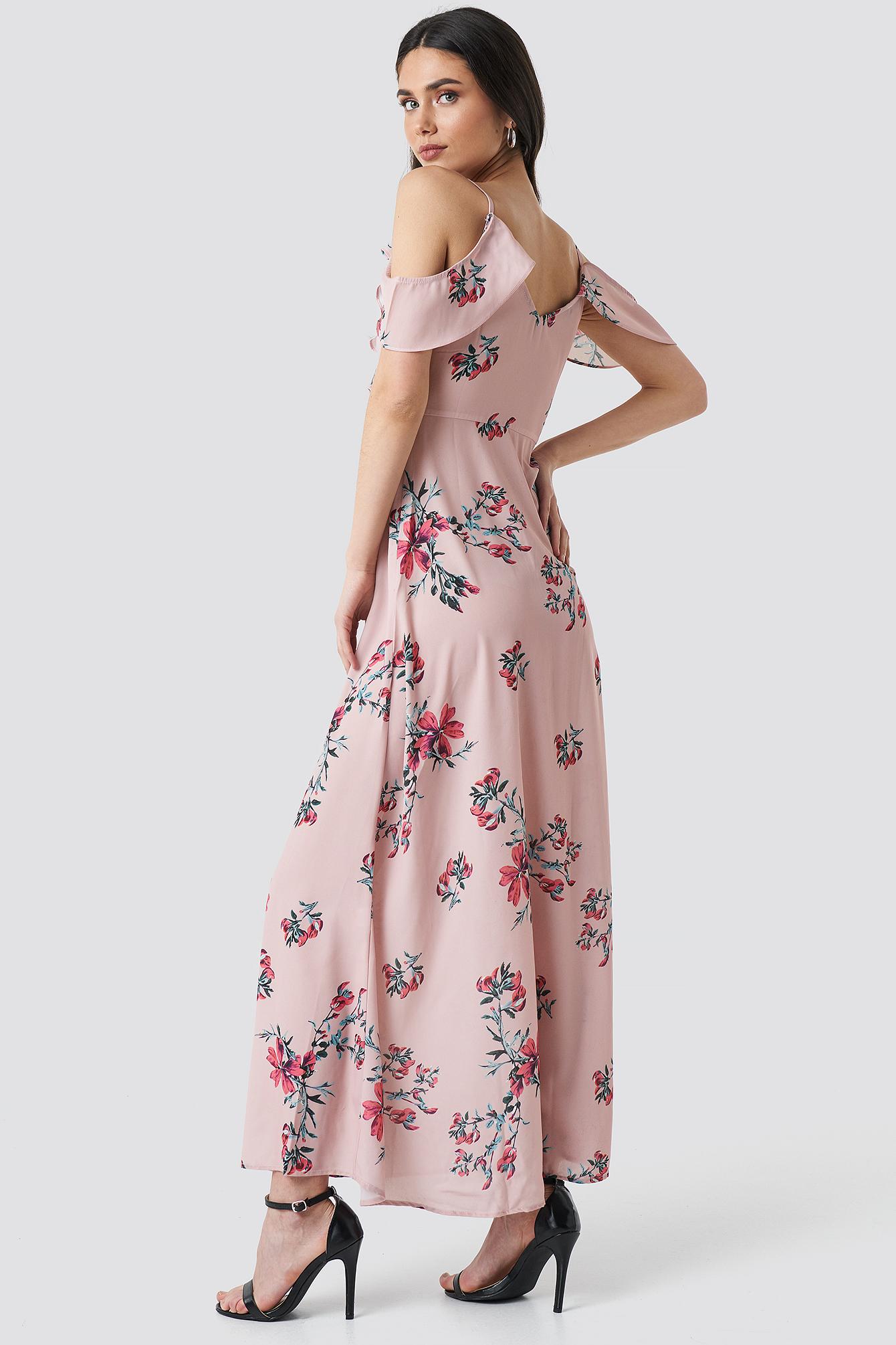 Długa sukienka Mika NA-KD.COM