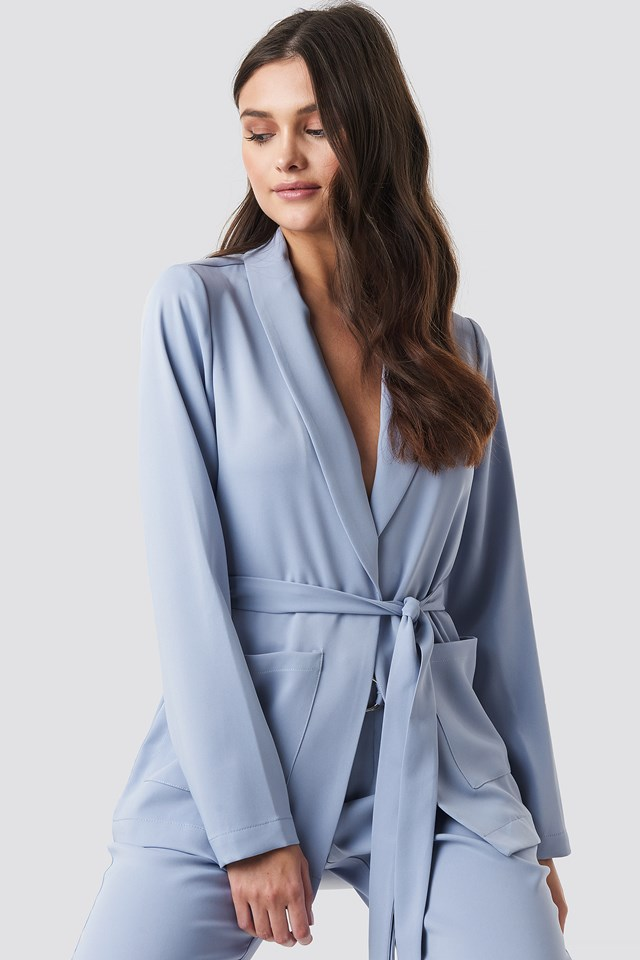 Nina Blazer Lavender Blue
