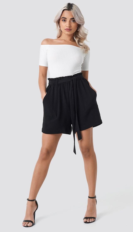 Ofelia Shorts Black