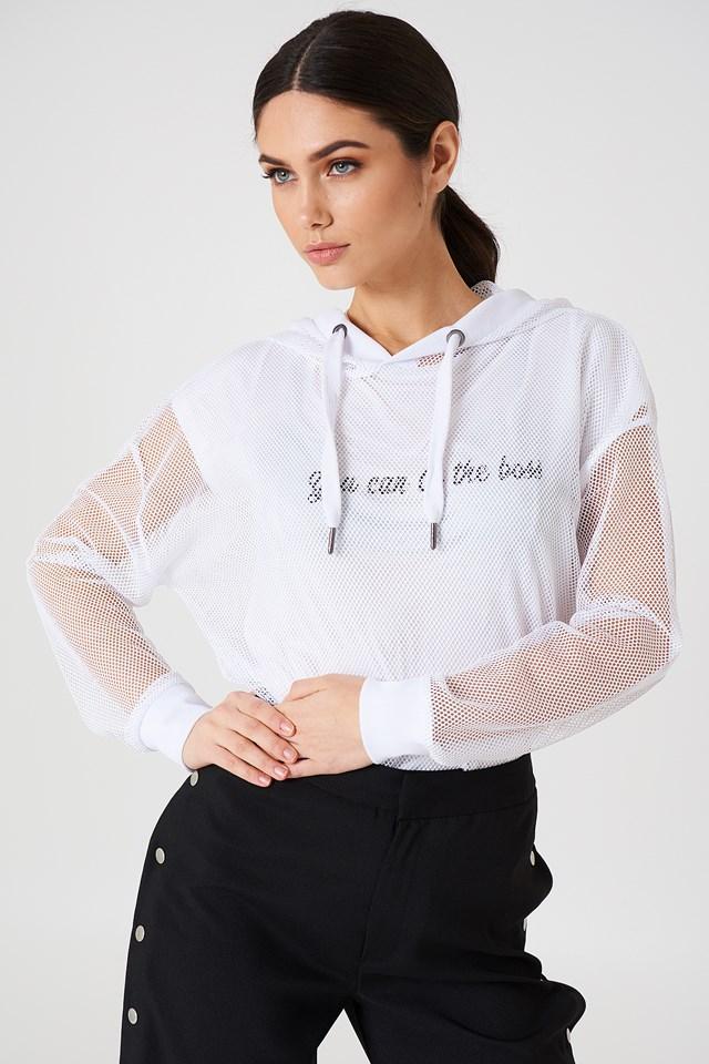 Oversized Mesh hoodie Rut&Circle