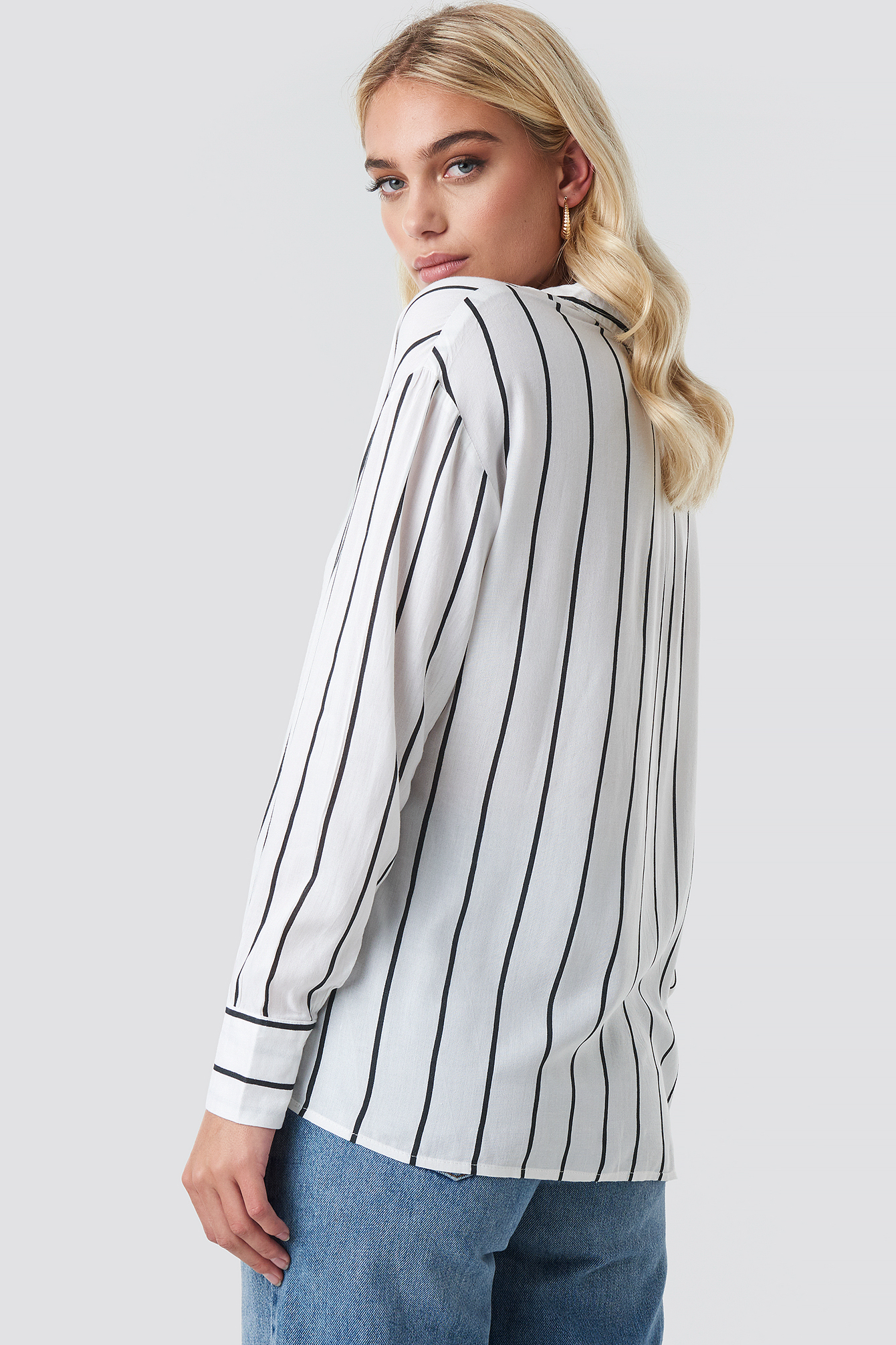 Oversized Stripe Shirt NA-KD.COM