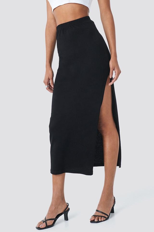 Sala Maxi Skirt Black